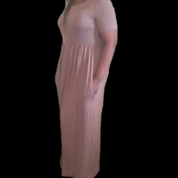 Mocha Maxi Dress